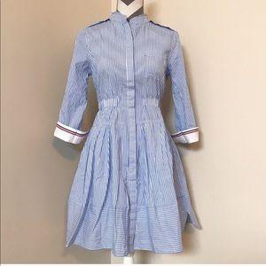 Anthropologie striped Summer dress NWT